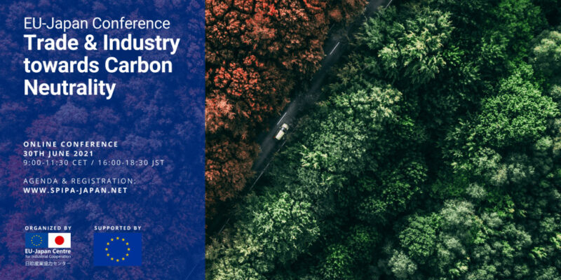 EU-Japan Online Conference on Trade & Industry towards Carbon Neutrality