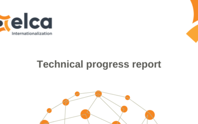 """The first """"Technical progress report"""""""