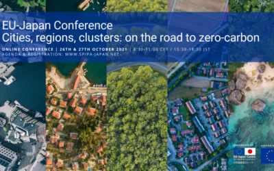 """EU-Japan Conference """"Cities, regions, clusters: on the road to zero carbon"""""""
